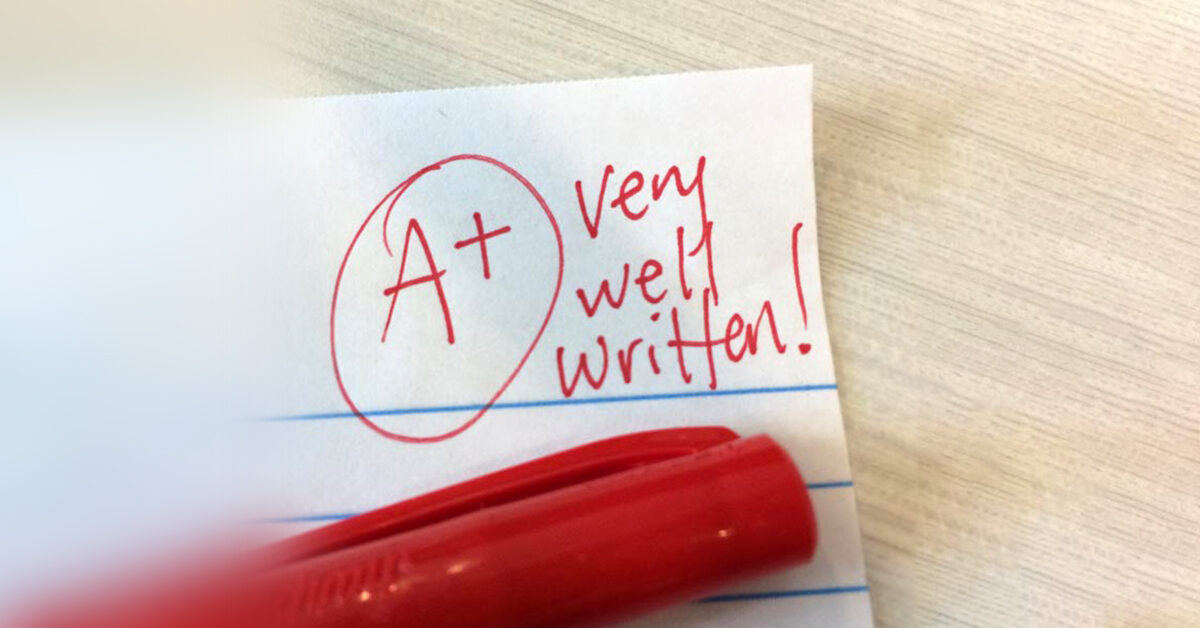 How to write an excellent graduate-level paper