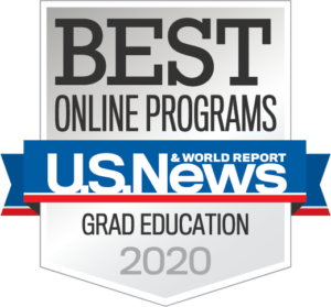 U.S. News & World Report Grad Education Badge