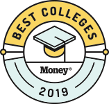 MONEY Best Colleges recognition