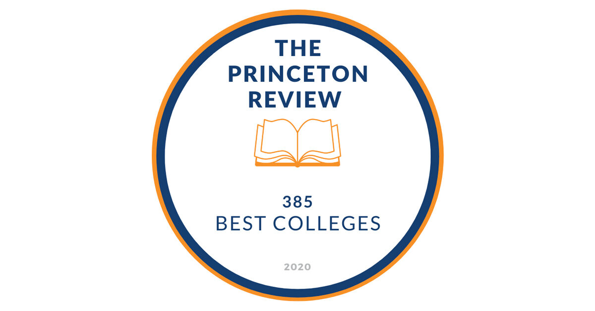 The Princeton Review the 385 Best Colleges for 2020