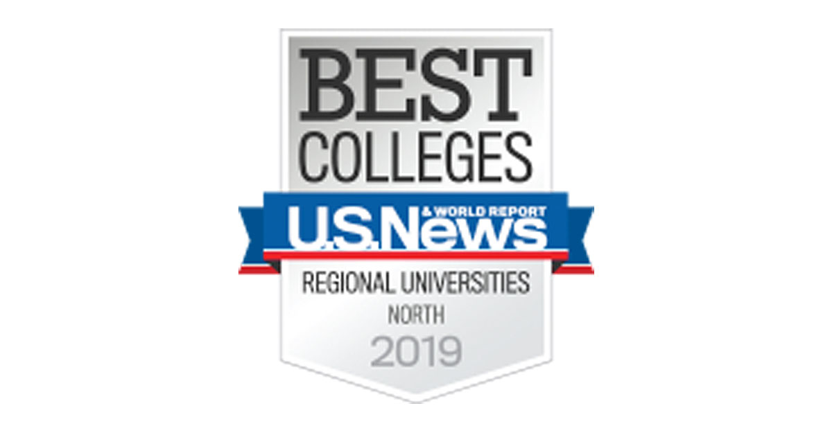 Badge for US News & World Report Best Colleges, Regional Universities, North