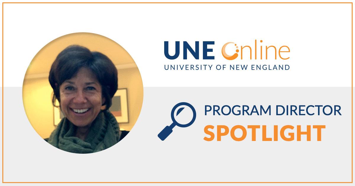 Dr. Jayne Pelletier, Program Director for the Graduate Programs in Education