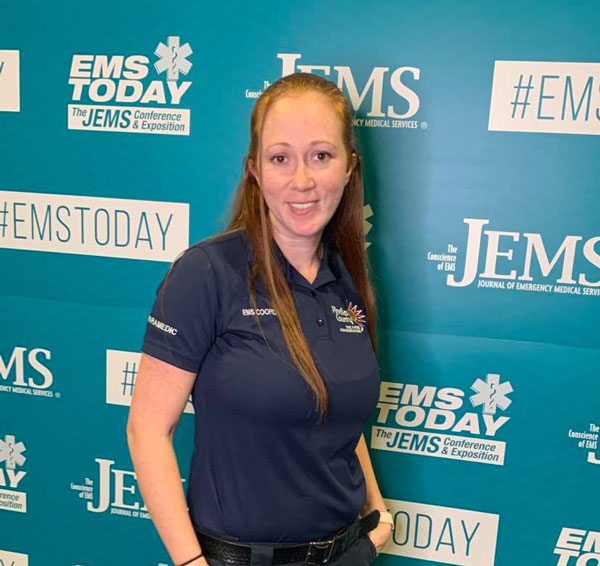 Jazmin Soloman at the JEMS Conference and Expo
