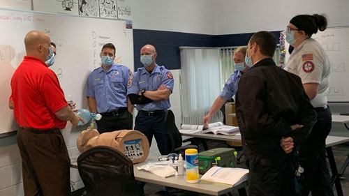EMS class in Pinellas County