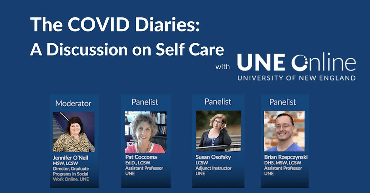 The COVID Diaries: A Discussion on Self-Care