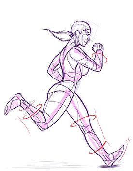 running, exercise, and algebra