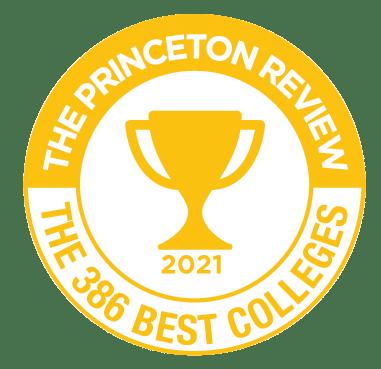 Princeton 386 Best Colleges 2021 Badge