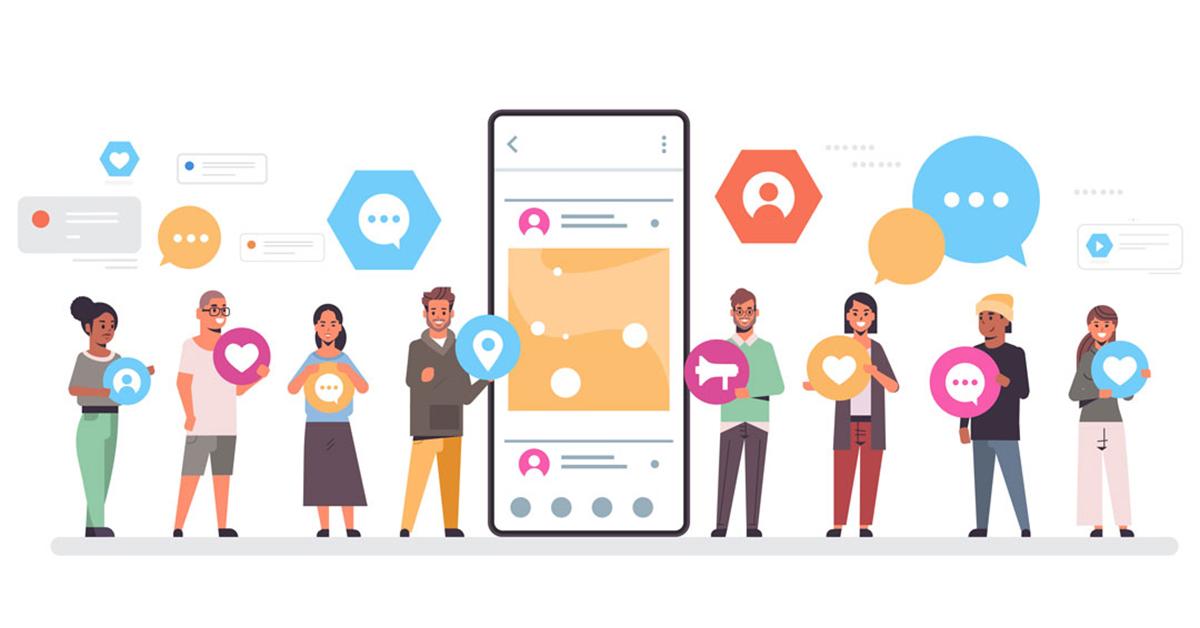 UNE Online Social Media