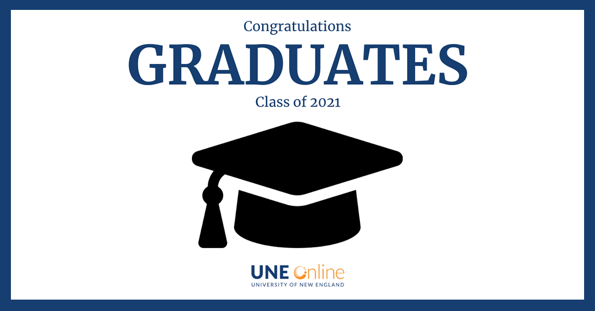 UNE Class of 2021 Commencement