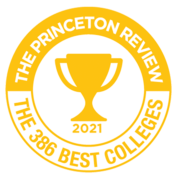 The Princeton Review 2021 Best 386 Colleges