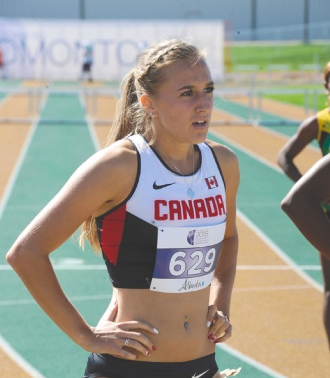 Taysia Radoslav, Olympic Hopeful and Science Prerequisite student at UNE Online