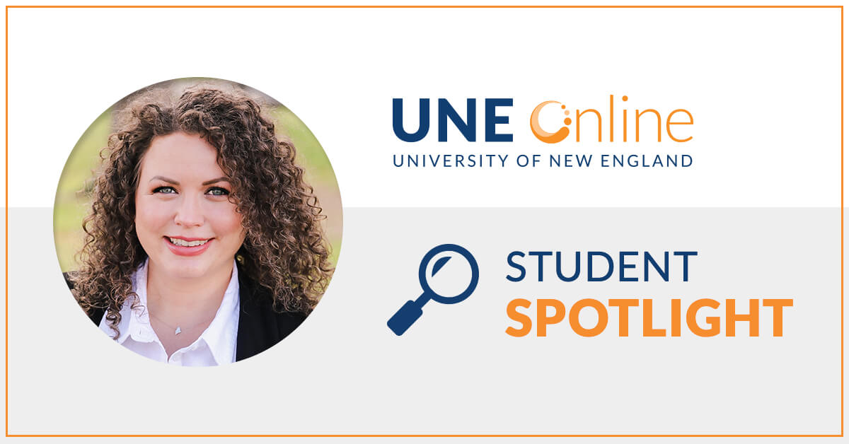 Brittany Brown, Master of Healthcare Administration program at UNE