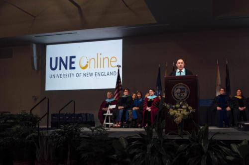 UNE Online Commencement